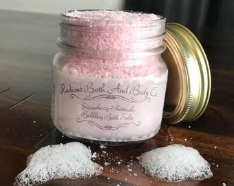 Bubbling bath salt