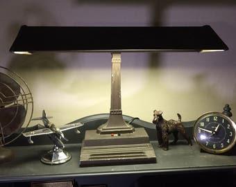 Mid Century Modern Bankers Desk Lamp