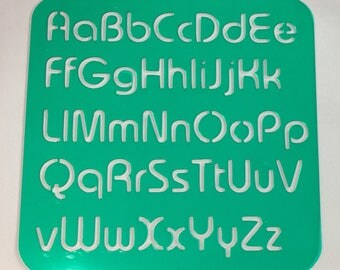 Alphabet Stencil 2 **Introductory Price!!**