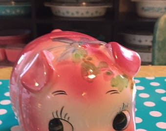 Vintage Ceramic Piggy Bank
