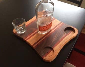 Wooden Drink Flight
