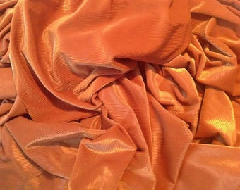 Gold Yellow Velvet Fabric, Gold Cordroy Velvet Fabric By The Yard
