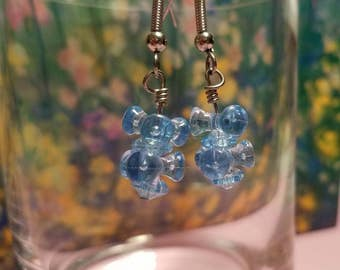 Blue Puzzle Piece (Handmade Earrings)