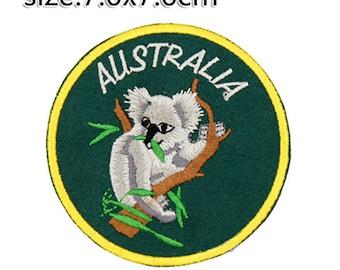 Koala Patch Koala Iron On Koala Birthday Koala Gift NOT Koala embroidery design Koala applique design