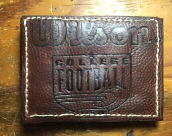 Football Leather Wallet Wilson 1001