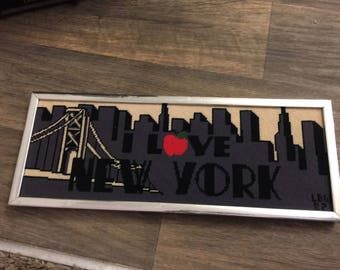 I Love New York - Needlepoint