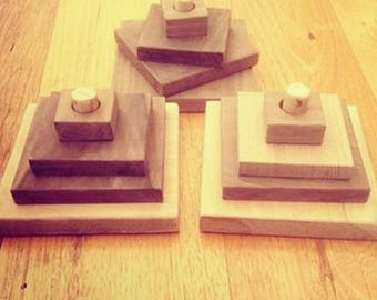 Wooden stackers