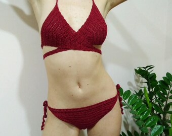 crochet swimsuit, swimwear, crochet bikini, crochet bathing suit, crouhet top