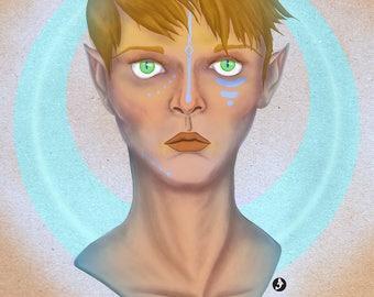 Elfen Warrior