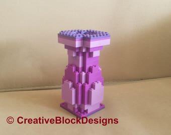 Custom Flower Vase - Violet - Lego Compatible
