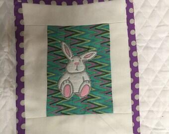 Easter mug rug