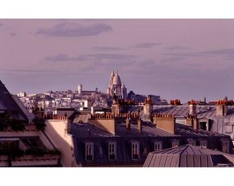Sacred Heart & roofs - Paris