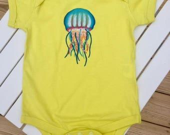 Jellyfish One Piece Baby