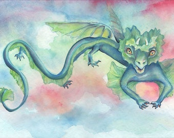 Whimsical dragon