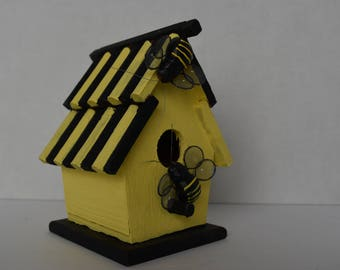 Bumble Bees Abode Hand-painted