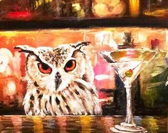 Night Owl Limited Edition Print