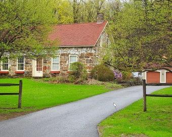 brick home in vermont