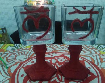 RootChakra Vases (set)