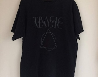 T-shirt noir Tragic Magic