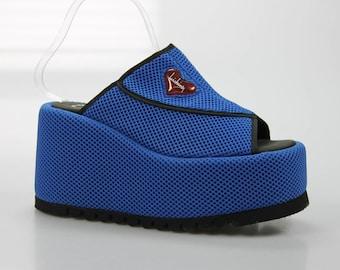 90's vintage Luichiny plateau Sandals size. 39