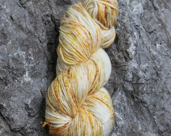 Bee's Knees- Sport Weight Sock Blend- Hand Dyed Yarn