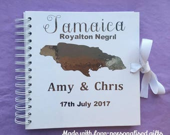 Destination Wedding Guest Book