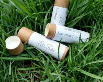 Organic Lip Balm in Compostable tube