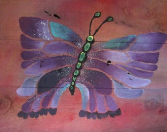Segmented Butterfly Painting