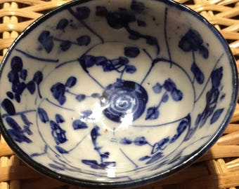 A beautiful blue and white, Chinese cup