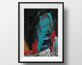 Tunnel Vision | Abstract Acrylic Painting | Original Fine Art | Minimalist Art | Modern Abstract Art | Modern Art Paintings