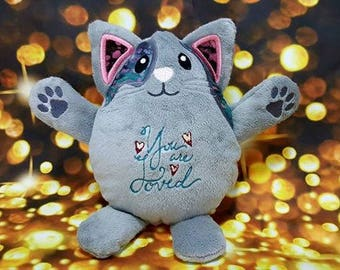 You Are Loved Kitty Plushie