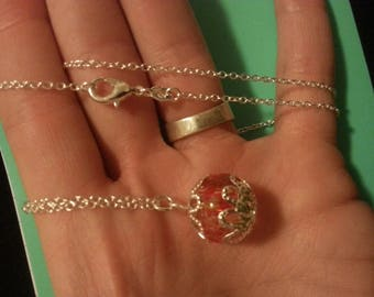 One of a Kind Glass Bead Necklace