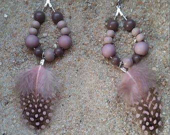 Boho vintage color earrings