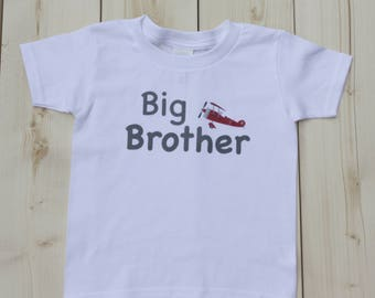Big Brother/Little Brother Shirt, Custom Shirt, Personalized Shirt, Boys' T-Shirt, Baby Bodysuit, Onesies
