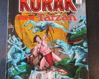 Korak Son of Tarzan #49 (Korak Origin Retold) 1972 D.C. Comics