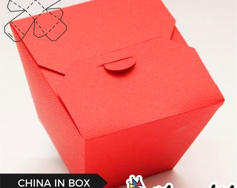China in Box - Box Template