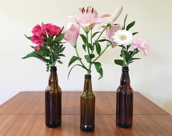 Brown beer bottles (x48)