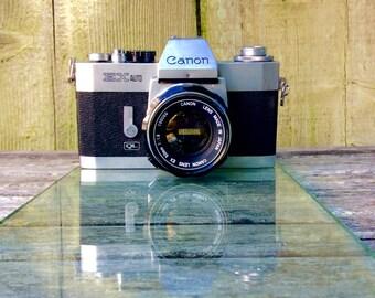 1972 Canon EX Auto - QL -  w EX 50mm f/1.8