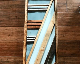 Reclaimed barn wood wall art, wood art, barn wood art, reclaimed wood art, art, rustic art, stripes