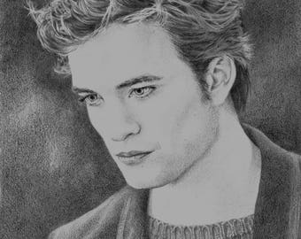 Edward Cullen Twilight A4 print