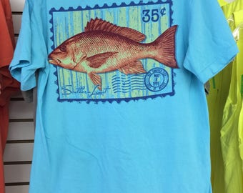 Southern Limit Salmon Tee