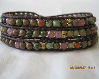 Three-Wrap Bracelet