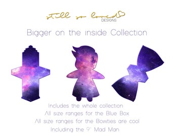 Bigger on the inside Complete Cloth Pad Pattern Collection PDF