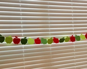 Apple Paper Garland