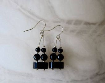 Double Black - Earings