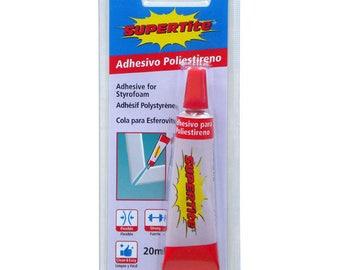 Adhesive glue polystyrene