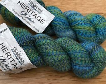 Cascade Yarns Heritage Wave Sock Yarn Superwash Merino