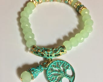 Tree of life elegant bracelet