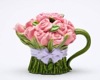 Pink Rose Teapot (20808)