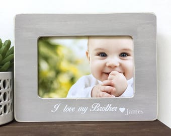 I love my Brother Custom Picture Frame Gift
